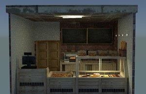 3ds bakery shop