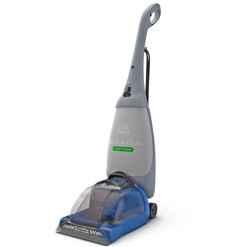 3d model steamvac cleaning
