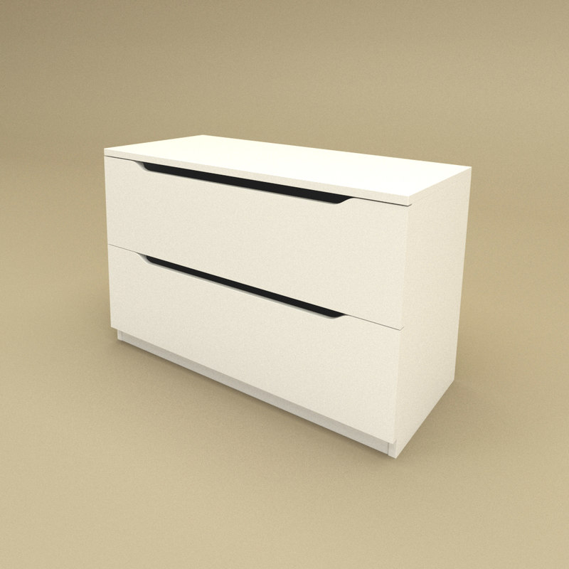 3d chest drawers