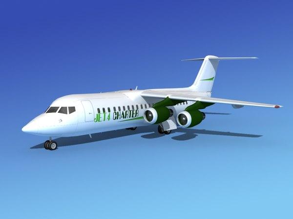 3d bae 146 jet model