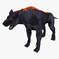 hellhound hell hound 3d 3ds