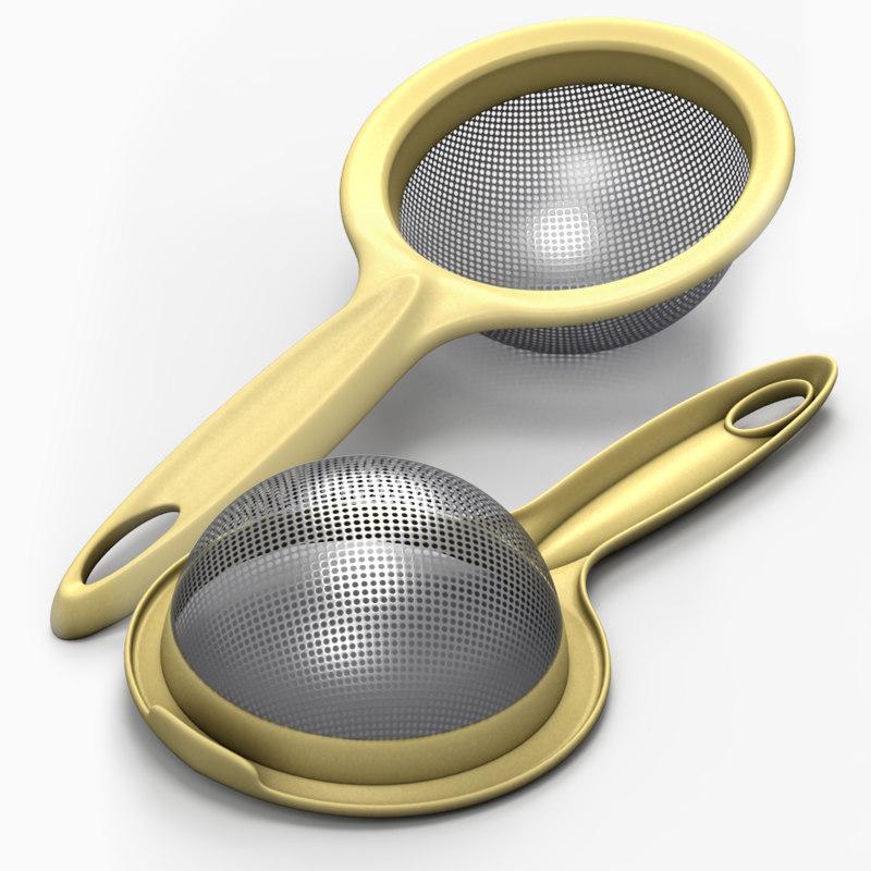 3d model sieve tool