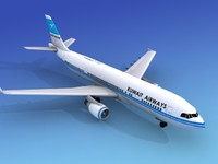Airbus A300 Kuwait Airways