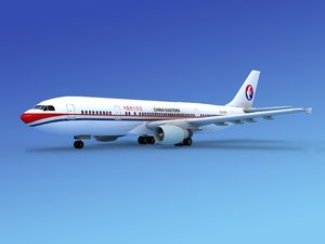 3d 3ds airline airbus a300