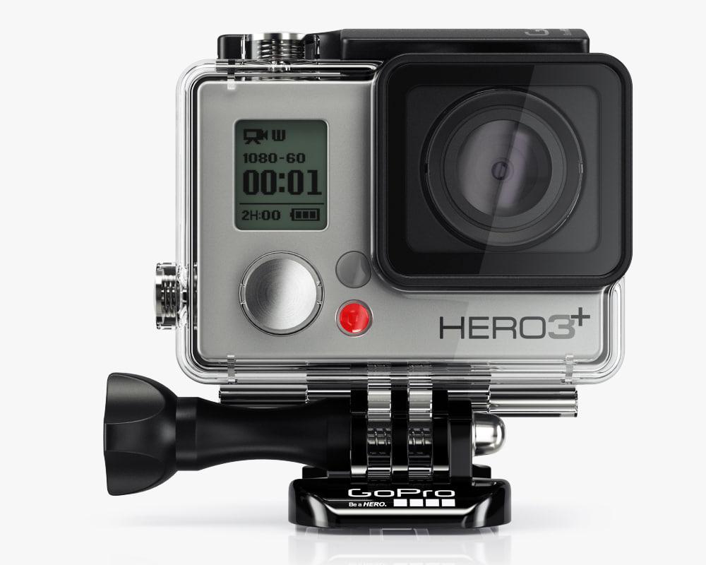 obj camera gopro hero3 black