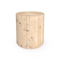 HUDSON SGABELLO LEGNO VIVO END TABLE