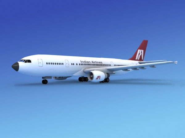 airline airbus a300 obj