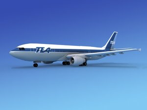 dxf airline airbus a300