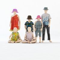 3d mannequin girl boy kids
