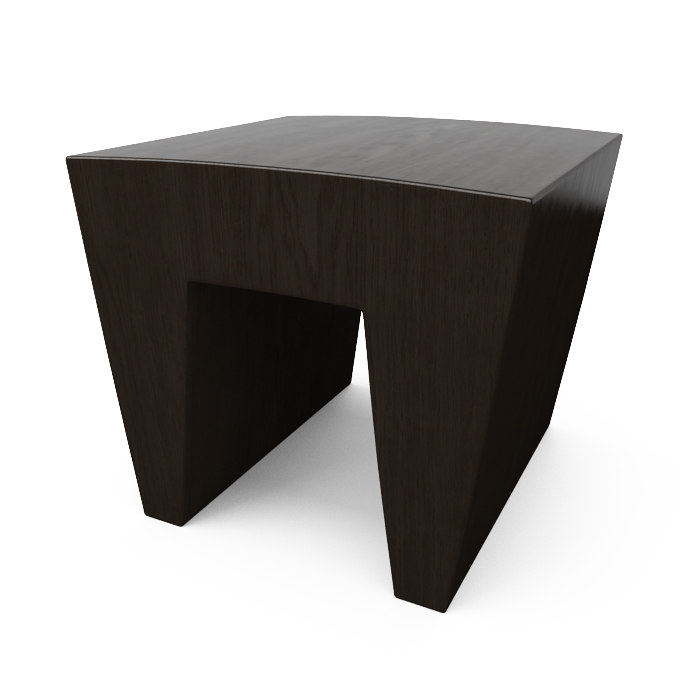 3d hudson marble arch end table