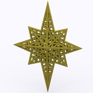 3ds christmas star