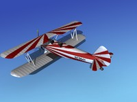 3ds max pt-17 stearman