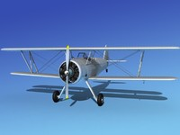 pt-17 stearman 3d 3ds