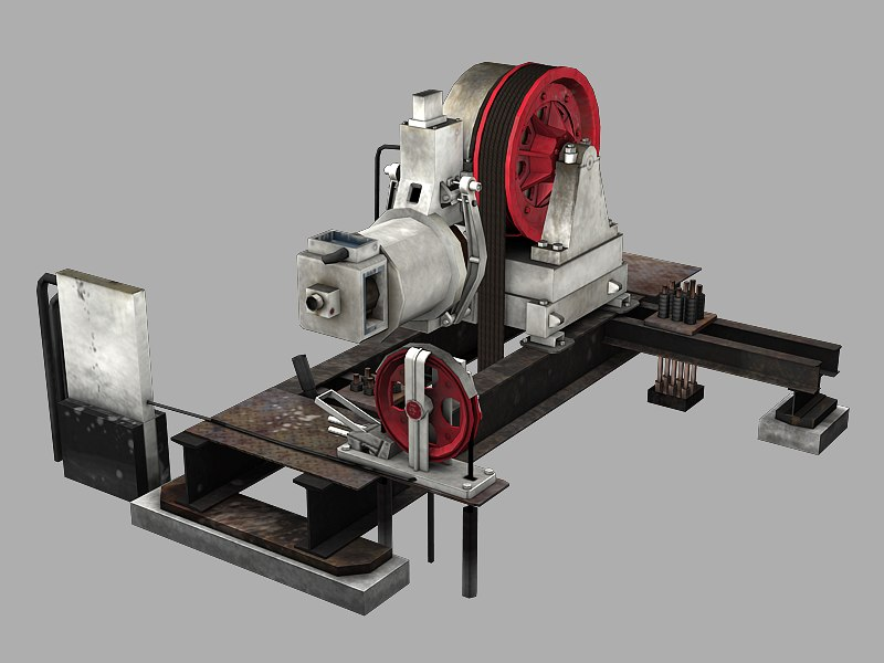maya elevator geared traction machine