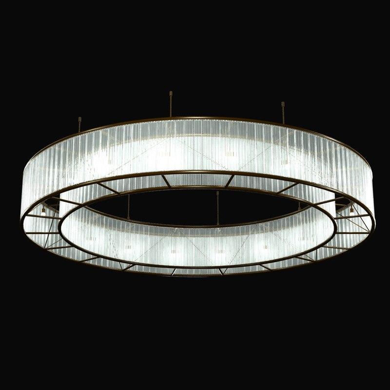 lamp ring light 3d 3ds