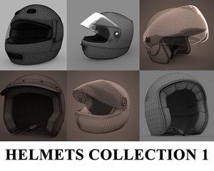 3d motorbike helmets