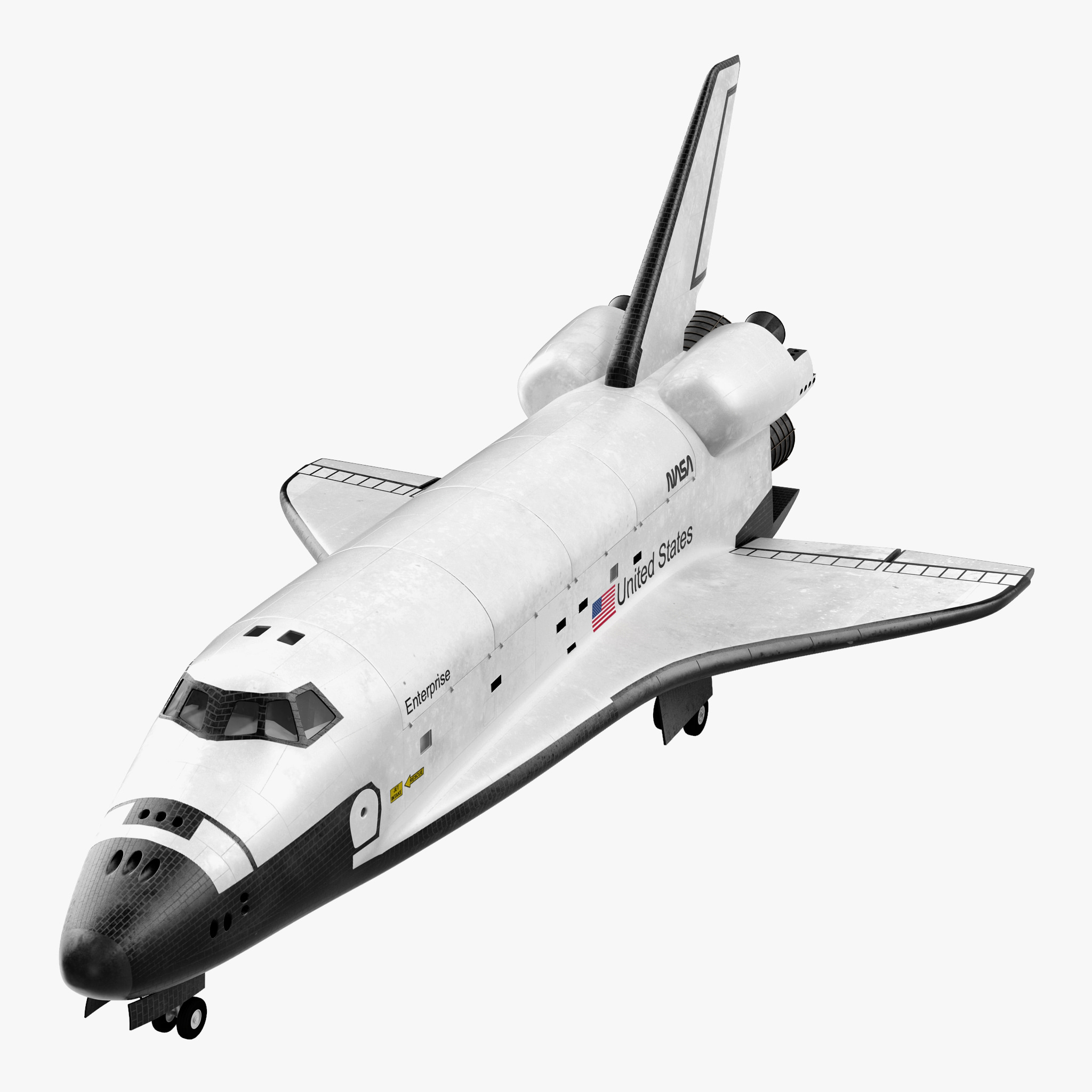 max space shuttle enterprise