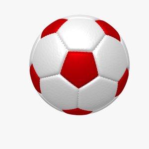 free soccer football ball 3d model
