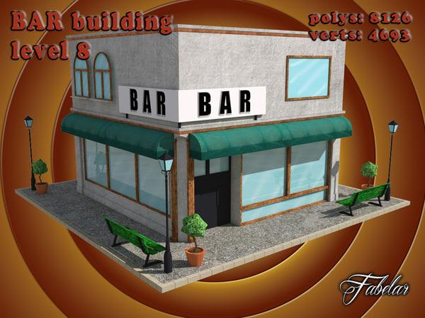 3d 3ds bar level 8