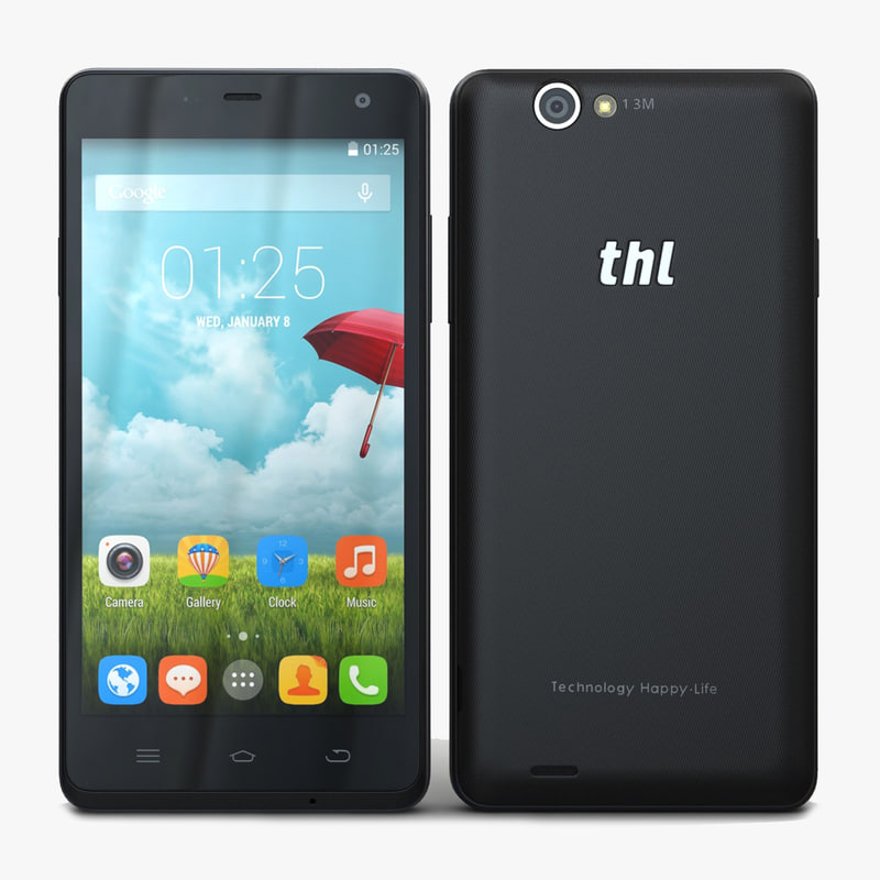 3d thl 5000 smart phone