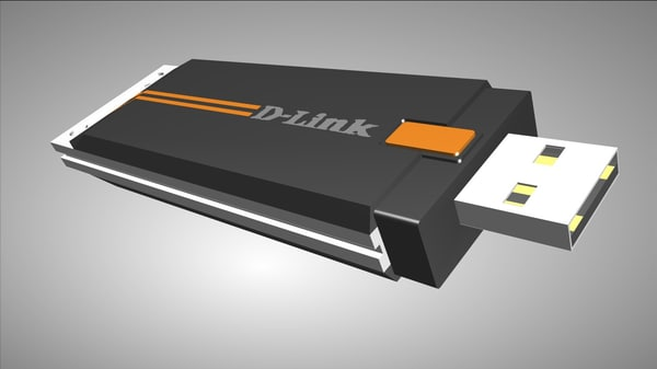 3ds max d-link usb wireless
