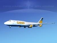 3d boeing 747 747-8 747-8i model