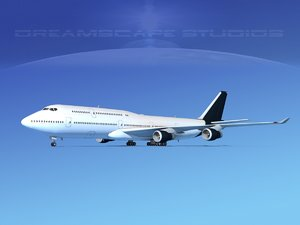 3ds boeing 747 747-8 747-8i