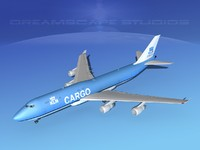 3d model boeing 747 747-8 747-8i