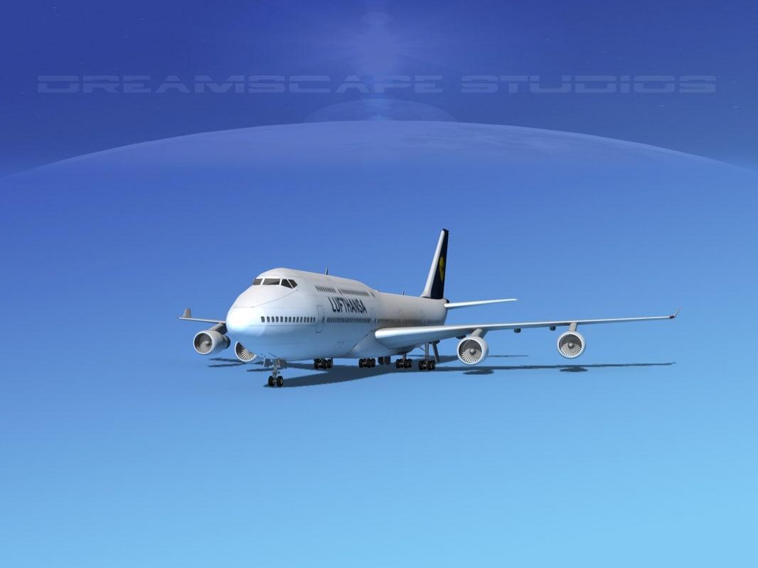 3ds boeing 747 747-8 747-8i