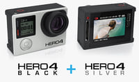 GoPro HERO4 Silver and Black Edition