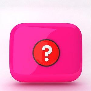 max icon question mark