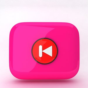 icon web 3d model