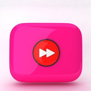 icon forward 3d model