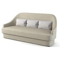 baker jacqueline sofa 3d max
