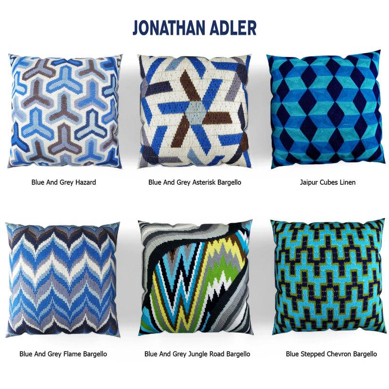 jonathan adler pillow 3d 3ds
