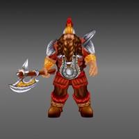 gnome fantasy 3d model