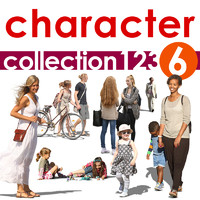 character collection 123-6