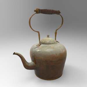 maya old copper kettle