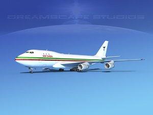 3d boeing 747 747-100