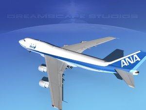 747-100 boeing 747 3d 3ds