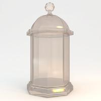 decorative bottle 3d 3ds