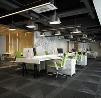 3d moden office