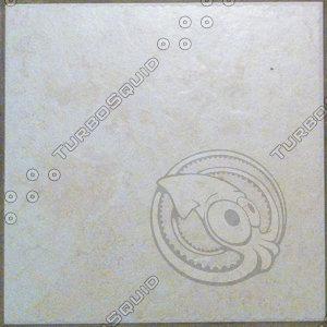 Off-white Tile Floor