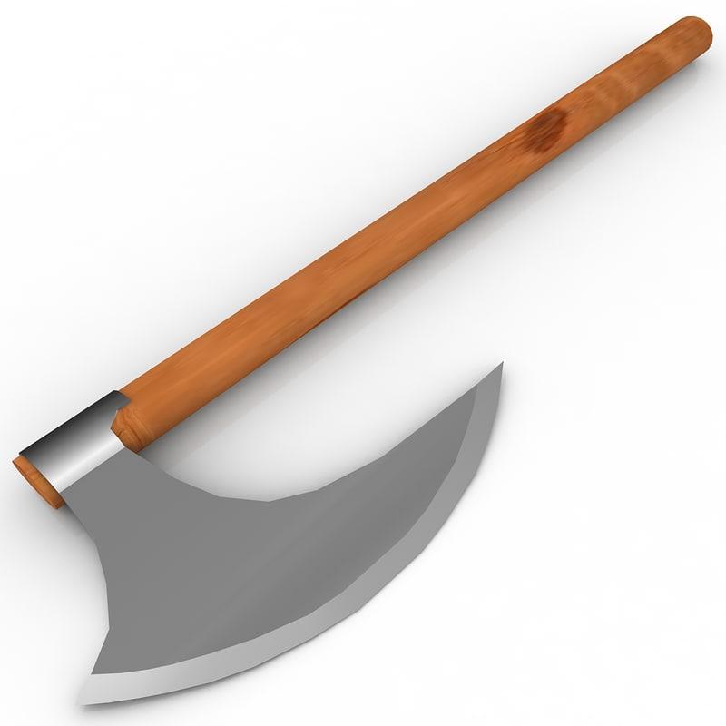 3d axe battle
