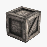 3ds max medieval wooden crate