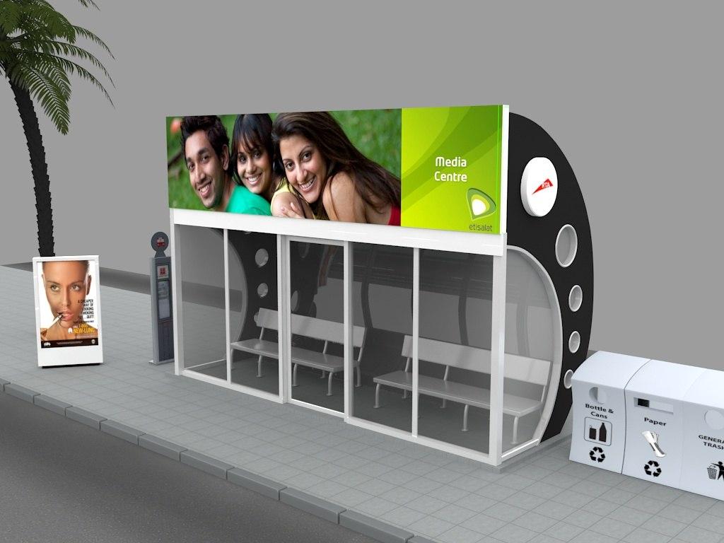 maya dubai bus stop