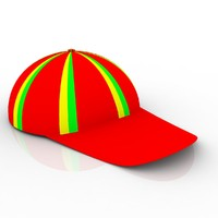 cap hat 3d model