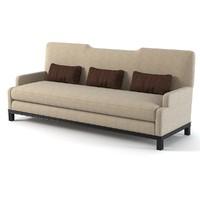 baker luis sofa 3d max