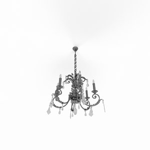 3d model classic lamp