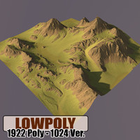 Lowpoly Mountain HL48